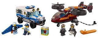 LEGO 60209 - LEGO City - Légi rendőrségi gyémántrablás