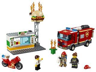 LEGO 60214 - LEGO City - Tűzoltás a hamburgeresnél