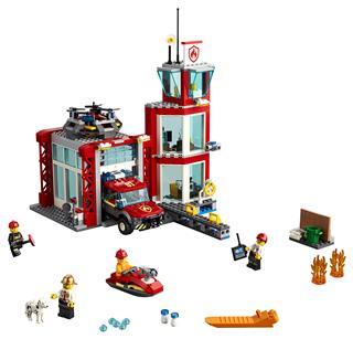 LEGO 60215 - LEGO City - Tűzoltóállomás