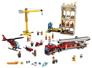 LEGO 60216 - LEGO City - Belvárosi tűzoltóság