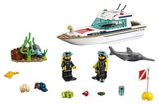 LEGO 60221 - LEGO City - Búvárjacht
