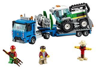 LEGO 60223 - LEGO City - Kombájn szállító