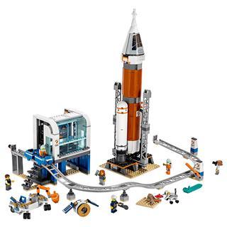 LEGO 60228 - LEGO City - Űrrakéta és irányítóközpont