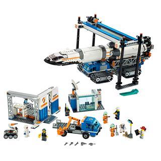 LEGO 60229 - LEGO City - Rakéta összeszerelés és szállítás