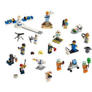 LEGO 60230 - LEGO City - Figuracsomag - Űrkutatás és fejlesztés