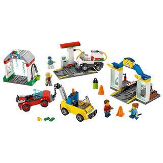 LEGO 60232 - LEGO City - Központi garázs