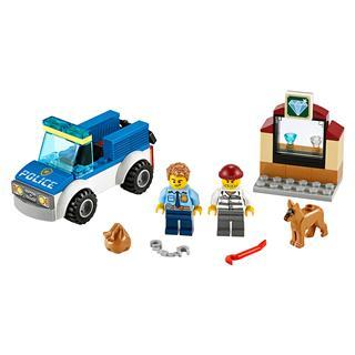 LEGO 60241 - LEGO City - Kutyás rendőri egység