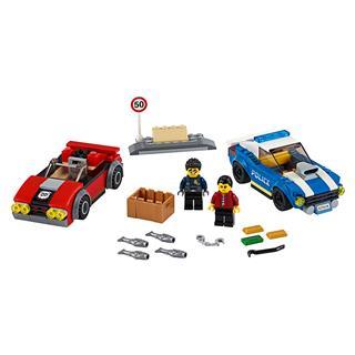 LEGO 60242 - LEGO City - Rendőrségi letartóztatás az országúton