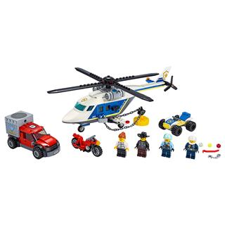 LEGO 60243 - LEGO City - Rendõrségi helikopteres üldözés