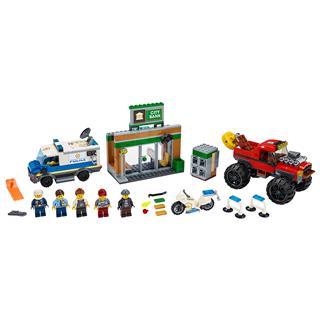LEGO 60245 - LEGO City - Rendõrségi teherautós rablás