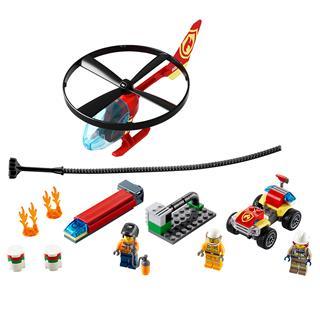 LEGO 60248 - LEGO City - Sürgõsségi tûzoltó helikopter