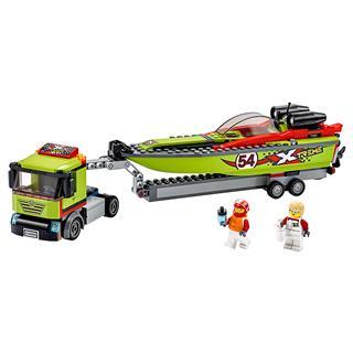 LEGO 60254 - LEGO City - Versenycsónak szállító