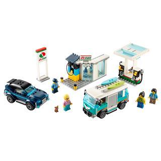 LEGO 60257 - LEGO City - Benzinkút