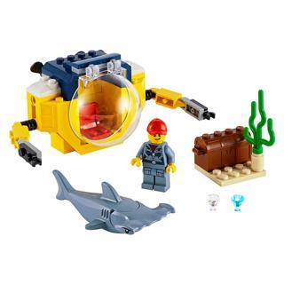 LEGO 60263 - LEGO City - Óceáni mini-tengeralattjáró