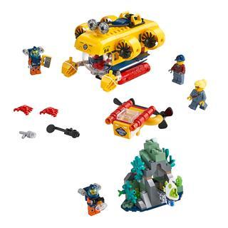LEGO 60264 - LEGO City - Óceáni kutató tengeralattjáró