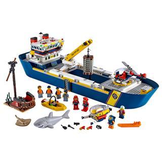 LEGO 60266 - LEGO City - Óceánkutató hajó
