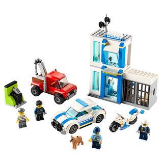 LEGO 60270 - LEGO City - Rendőrségi elemtartó doboz