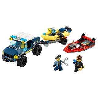 LEGO 60272 - LEGO City - Elit Rendõrség Hajószállító