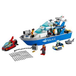 LEGO 60277 - LEGO City - Rendőrségi járőrcsónak
