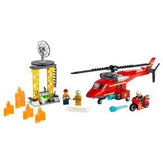LEGO 60281 - LEGO City - Tűzoltó mentőhelikopter