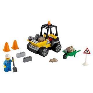 LEGO 60284 - LEGO City - Útépítő autó