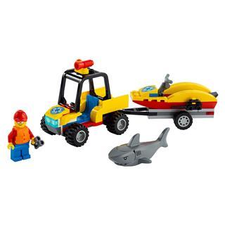 LEGO 60286 - LEGO City - Tengerparti mentő ATV jármű