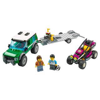 LEGO 60288 - LEGO City - Verseny homokfutó szállítóautó