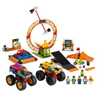 LEGO 60295 - LEGO City - Kaszkadőr show aréna