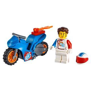 LEGO 60298 - LEGO City - Rocket kaszkadőr motorkerékpár