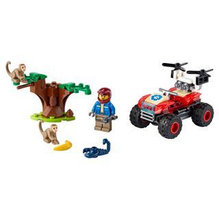 LEGO 60300 - LEGO City - Vadvilág ATV mentőjármű