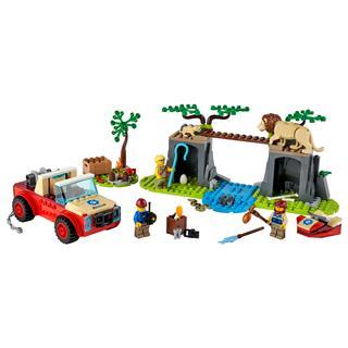 LEGO 60301 - LEGO City - Vadvilág mentő terepjáró