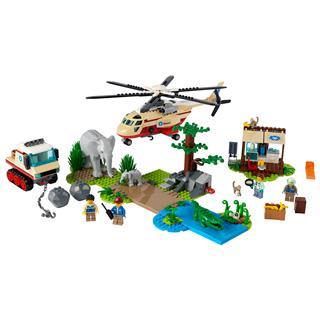 LEGO 60302 - LEGO City - Vadvilág mentési művelet