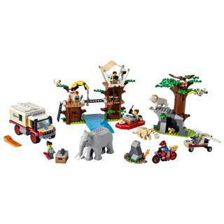 LEGO 60307 - LEGO City - Vadvilági mentőtábor