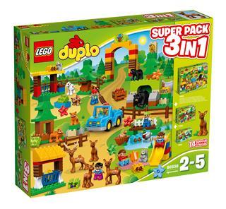 LEGO 66538 - LEGO DUPLO - Erdő Super Pack