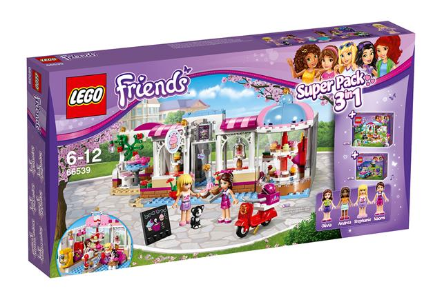 LEGO 66539 - LEGO Friends - Heartlake Super Pack