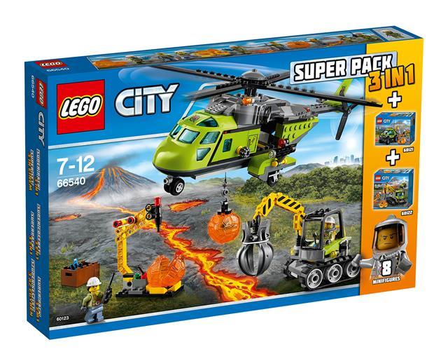 LEGO 66540 - LEGO City - Vulkánkutatók Super Pack