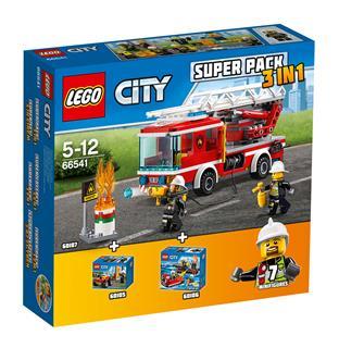 LEGO 66541 - LEGO City - Tűzoltóság Super Pack
