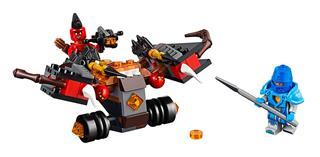 LEGO 70318 - LEGO Nexo Knights - Sárgolyó dobáló