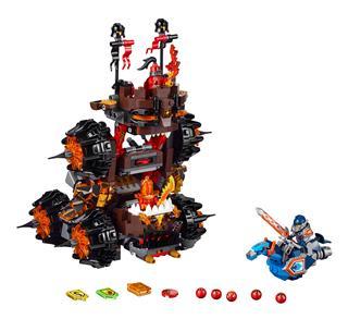 LEGO 70321 - LEGO Nexo Knights - Magmar tábornok végzetes ostromgépe