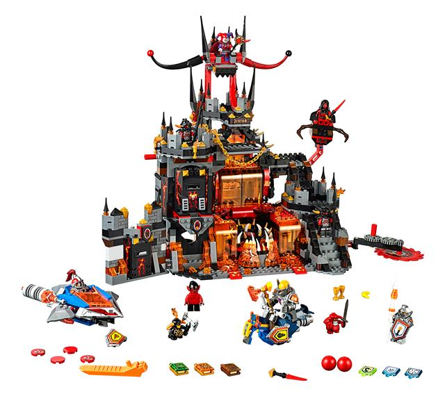 LEGO 70323 - LEGO Nexo Knights - Jestro vulkáni búvóhelye