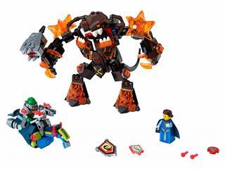 LEGO 70325 - LEGO Nexo Knights - Infernox foglyul ejti a királynőt