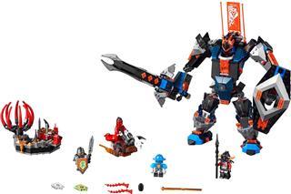 LEGO 70326 - LEGO Nexo Knights - A fekete lovag robot