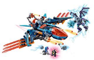 LEGO 70351 - LEGO Nexo Knights - Clay sólyomvadász ágyúja