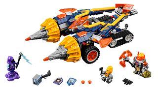 LEGO 70354 - LEGO Nexo Knights - Axl dübörgéskeltője