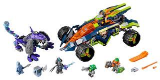 LEGO 70355 - LEGO Nexo Knights - Aaron sziklamászója