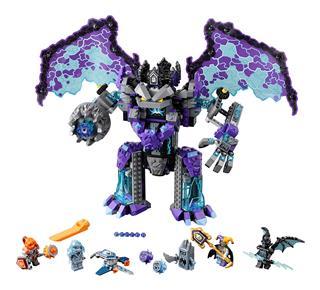 LEGO 70356 - LEGO Nexo Knights - A teljes rombolás kőkolosszusa