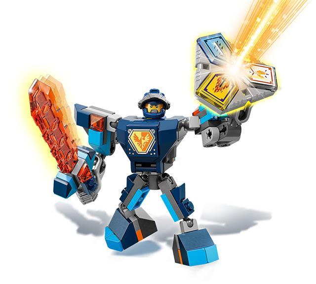 LEGO 70362 - LEGO Nexo Knights - Clay harci öltözéke