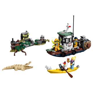 LEGO 70419 - LEGO Hidden Side - Megfeneklett rákász hajó
