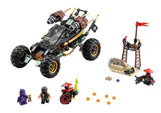 LEGO 70589 - LEGO NINJAGO - Sziklajáró