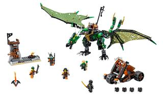 LEGO 70593 - LEGO Ninjago - A Zöld NRG sárkány